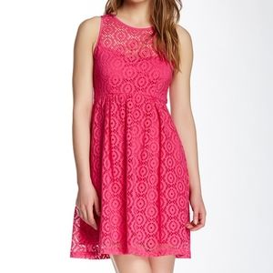 Nanette Lepore Delicate Crochet Dress